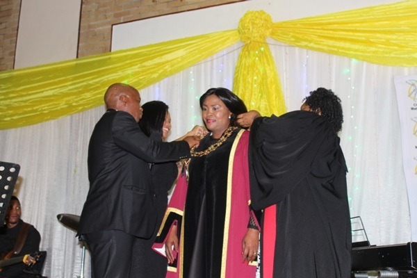 Kgaile sworn in officially